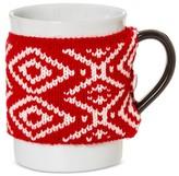 Threshold Ugly Sweater 14oz Stoneware Mug Red