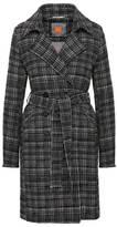 Manteau en coton mélangé au look