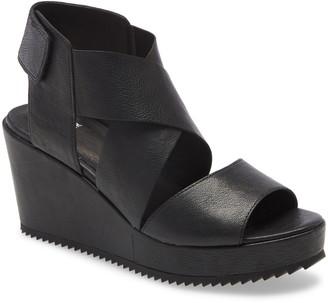 Eileen Fisher Whimsy Platform Wedge Sandal
