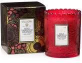Voluspa Japonica Limited Boxed Scalloped Goji Berry & Tarocco Orange Candle Pot