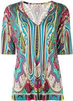 Etro paisley print T-shirt - women - Silk - 44