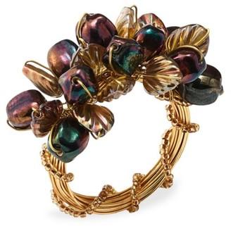 Kim Seybert Theodora Multi-Stone Napkin Ring