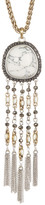 Lucky Brand Pebble Fringe Statement Necklace