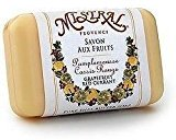 Mistral Shea Butter Soap, Grapefruit Red Currant, 7-Ounce Bar by