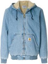 Carhartt shearling denim jacket