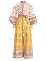 Zimmermann Bonita Buttoned Long Dress