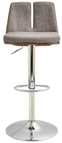 Lumisource Varzi Adjustable Barstool with Swivel