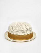 Goorin Bros. Guillermo Straw Fedora Hat