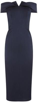 Karen Millen Satin Pencil Dress