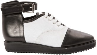 Surface to Air Black Leather Ankle boots