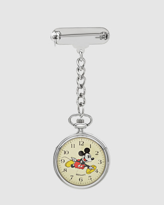 Disney Mickey Nurses Silver Watch