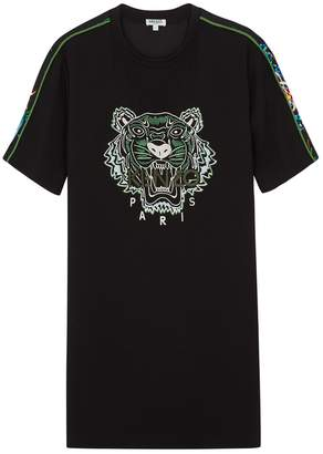 Kenzo Printed Tiger-embroidered T-shirt Dress