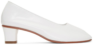 Martiniano White High Glove Heels