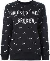 Zoe Karssen Bruised sweatshirt - women - Cotton - S
