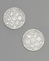 Glamour Coin Stud Earrings