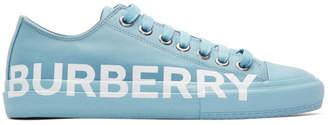 Burberry Blue Larkhall M Logo Sneakers