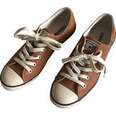 Converse Camel Leather Trainers