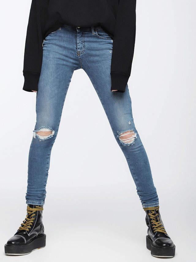Diesel SLANDY Jeans 084UF - Blue - 24