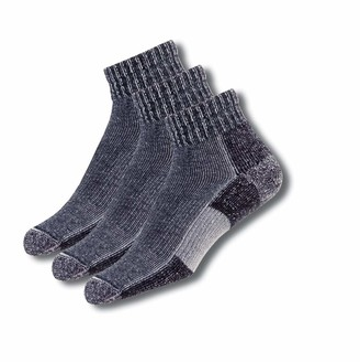 Thorlos Unisex-Adult's Trail Running Ankle 3 Pair Pack Socks