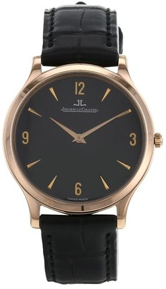 Jaeger-LeCoultre 2010 pre-owned Master Ultra Thin 34mm