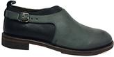 Gee WaWa Gray & Black Merrill Leather Shoe