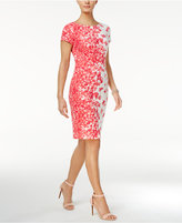 Jessica Howard Floral-Print Sheath Dress