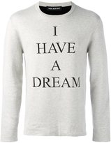Neil Barrett 'I have a dream' sweater