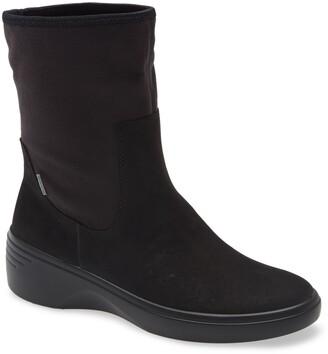 Ecco Soft 7 Gore-Tex(R) Waterproof Wedge Boot