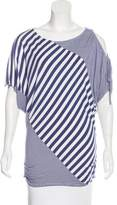 Ella Moss Striped Jersey Top