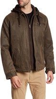 Rogue Detachable Hooded Zip Front Jacket