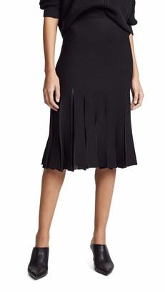 Theory Women's Pleated MIDI Skirt