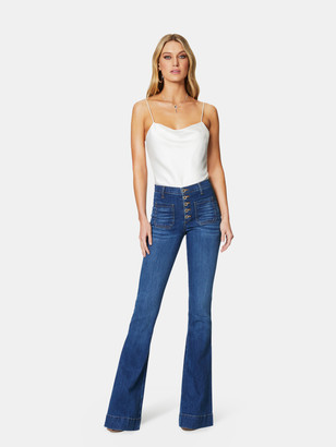 Ramy Brook Cindy High Rise Flare Jeans