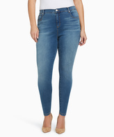 Gloria Vanderbilt Houston Blue Stonewashed Skinny Jeans - Plus