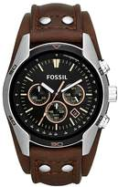 Fossil Men's CH2891 Coachman Chronograph Leather Watch