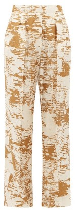 Max Mara Acume Trousers - Womens - White Gold