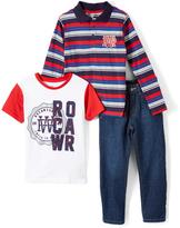 Rocawear Limoges Stripe Polo Set - Toddler & Boys