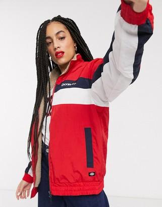 Dickies Paducah jacket in fiery red