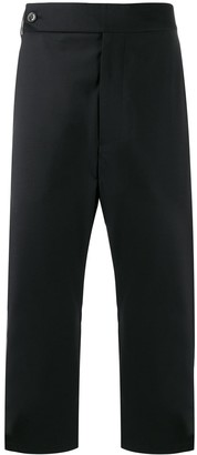 Odeur Dropped Crotch Cropped Trousers