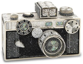 Judith Leiber Camera Flash Clutch Bag