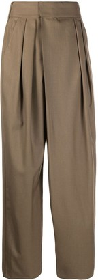 Low Classic High-Rise Tailored Trousers