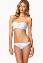 Forever 21 Tropical Frond Bikini Bottom