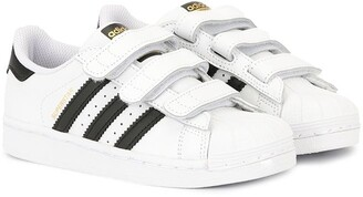 SuperStar adidas Kids touch strap trainers