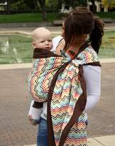 Snuggy Baby Prestige Ring Sling Baby Carrier - Rainbow Chevron