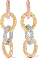 Carolina Bucci Huggy 18-karat Gold Earrings - one size