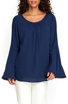 Wallis Women's Bell Sleeve Blouse