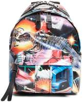 Moschino Small Transformer Print Backpack