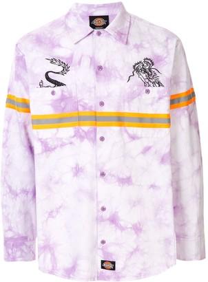 Dickies x Long Wang print shirt