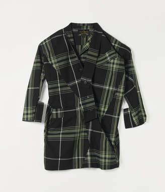 Vivienne Westwood Long Sleeve Arabesque Dress Mint/Black