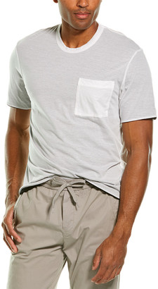 James Perse Double Layer Pocket T-Shirt