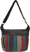 ST. JOHN'S BAY St. John's Bay Quilted Front Convertible Hobo Bag